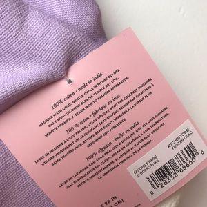 kate spade Kitchen - Kate Spade Bistro Stripe Lavender Kitchen Towel